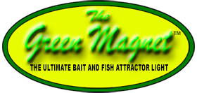 Green Magnet Fishing Lights